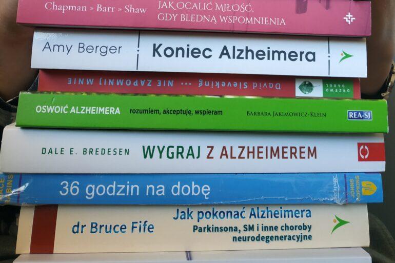 książki o alzheimerze
