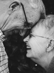 Starsza zakochana para