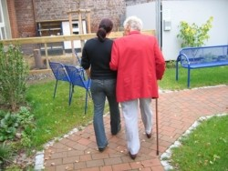 Rodzina chorego na alzheimera