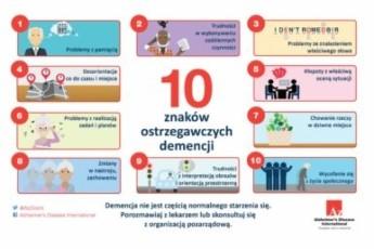 pierwsze objawy choroby alzheimera, wersja mini